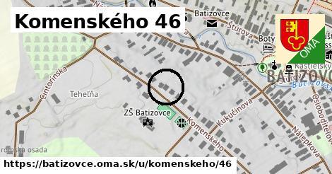 Komenského 46, Batizovce