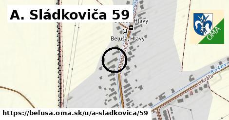 A. Sládkoviča 59, Beluša