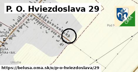 P. O. Hviezdoslava 29, Beluša