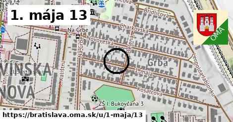 1. mája 13, Bratislava