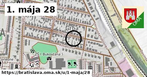 1. mája 28, Bratislava