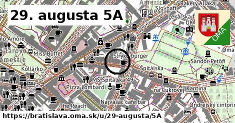 29. augusta 5A, Bratislava