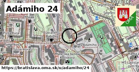 Adámiho 24, Bratislava