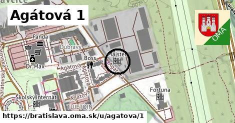 Agátová 1, Bratislava