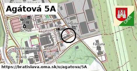 Agátová 5A, Bratislava