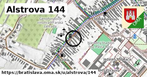 Alstrova 144, Bratislava
