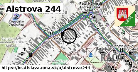 Alstrova 244, Bratislava