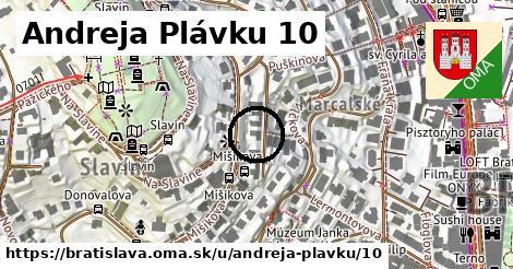 Andreja Plávku 10, Bratislava