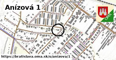 Anízová 1, Bratislava