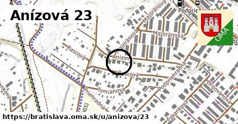 Anízová 23, Bratislava