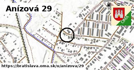 Anízová 29, Bratislava