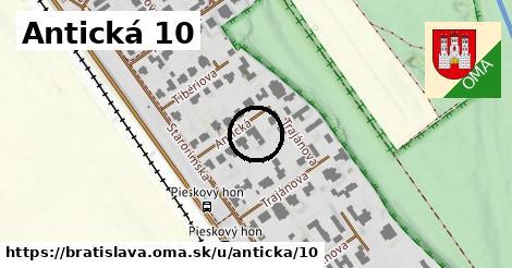 Antická 10, Bratislava