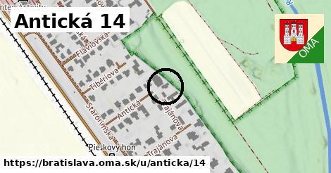 Antická 14, Bratislava