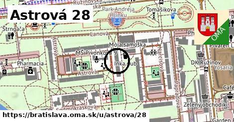 Astrová 28, Bratislava