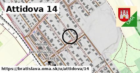 Attidova 14, Bratislava