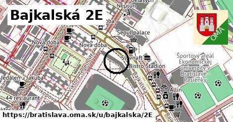Bajkalská 2E, Bratislava