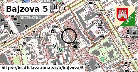 Bajzova 5, Bratislava