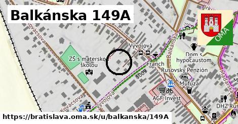 Balkánska 149A, Bratislava