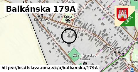 Balkánska 179A, Bratislava