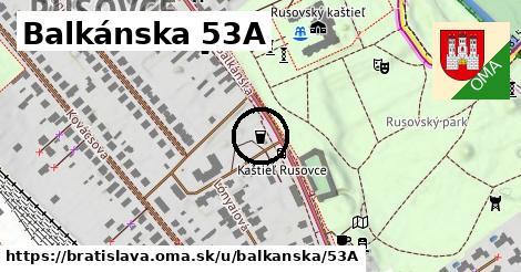 Balkánska 53A, Bratislava