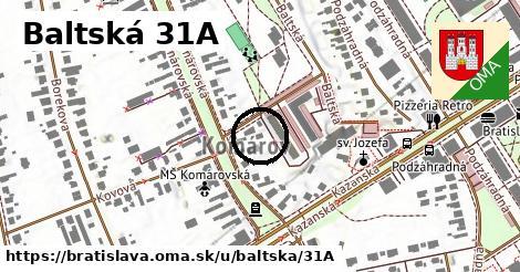 Baltská 31A, Bratislava
