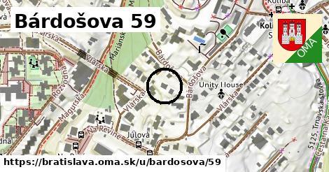 Bárdošova 59, Bratislava