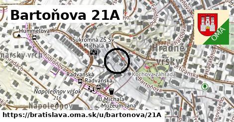 Bartoňova 21A, Bratislava