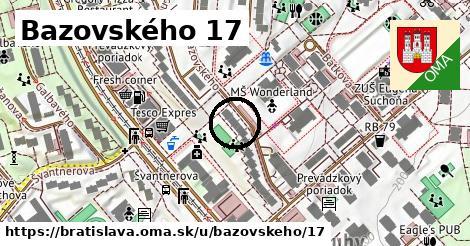 Bazovského 17, Bratislava