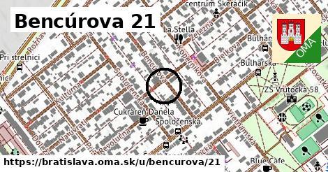 Bencúrova 21, Bratislava