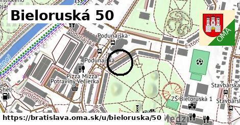 Bieloruská 50, Bratislava