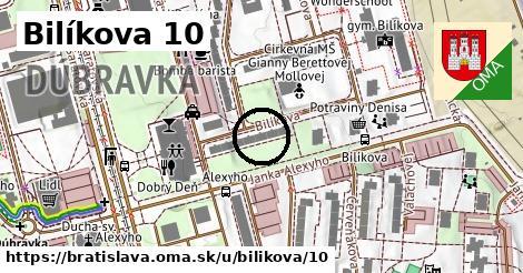 Bilíkova 10, Bratislava