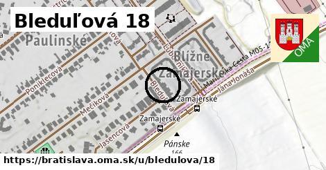 Bleduľová 18, Bratislava