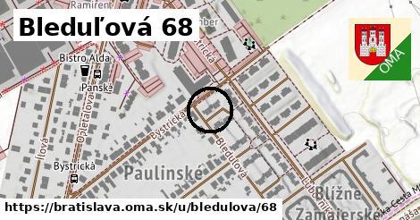 Bleduľová 68, Bratislava