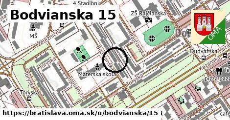 Bodvianska 15, Bratislava