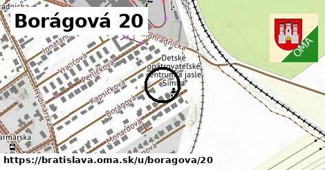 Borágová 20, Bratislava