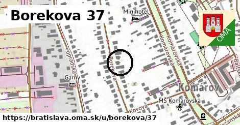 Borekova 37, Bratislava