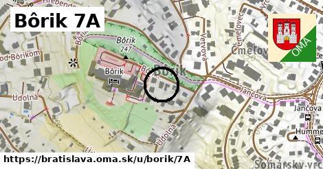 Bôrik 7A, Bratislava
