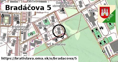 Bradáčova 5, Bratislava