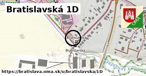Bratislavská 1D, Bratislava