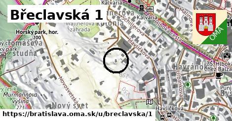 Břeclavská 1, Bratislava