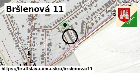 Bršlenová 11, Bratislava