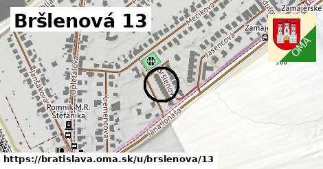 Bršlenová 13, Bratislava