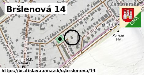 Bršlenová 14, Bratislava