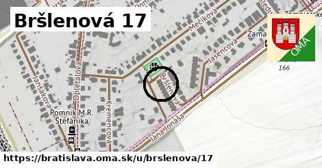 Bršlenová 17, Bratislava