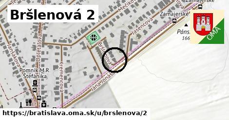 Bršlenová 2, Bratislava