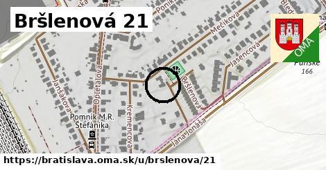 Bršlenová 21, Bratislava