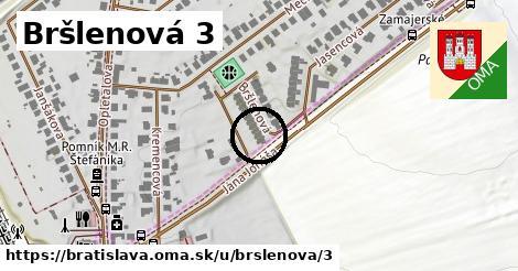 Bršlenová 3, Bratislava