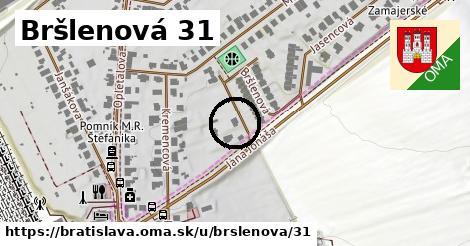 Bršlenová 31, Bratislava