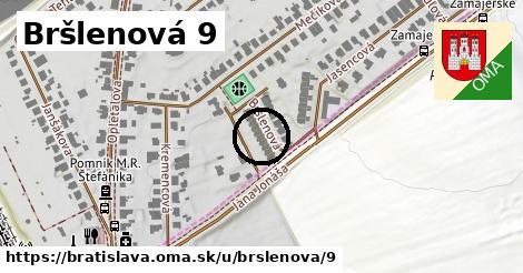 Bršlenová 9, Bratislava