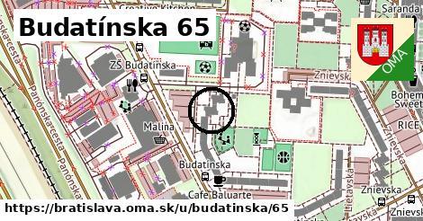 Budatínska 65, Bratislava